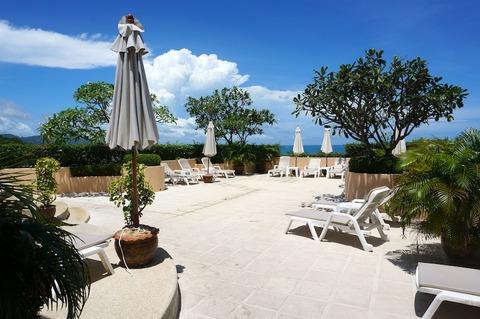 <プーケット旅行その3>パシフィック・クラブ・リゾート(プール)/Pacific Club Resort Karon Beach Phuket