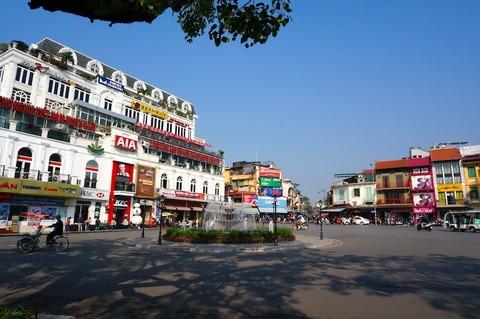 <中国・雲南省旅行その3>ハノイをふらふら散策