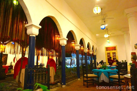 【ジャワ島】10_インドネシア最古のコロニアルホテル「ホテル・トゥグ・ブリタール/Hotel Tugu Blitar(食事編)」