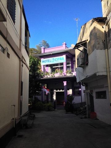 <アチェ旅行2014夏その2>サバン市内の清潔なホテル♪「ホテル・チトラ/HOTEL CITRA」