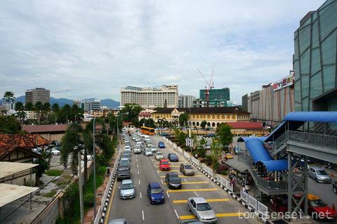 <マレー半島縦断2000kmその29>マレーシア編⑤ イポーの新市街を散策〜♪