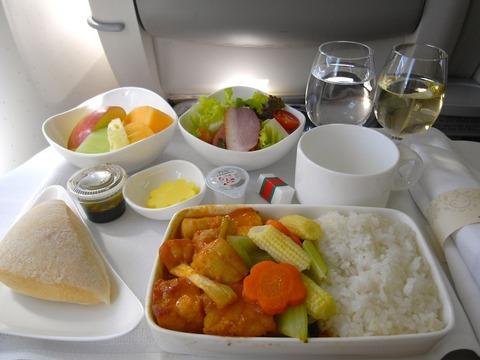 <アシアナ航空機内食>OZ712/TPE-ICN/台北-ソウル