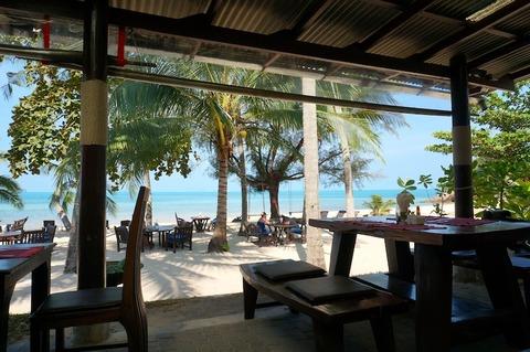 <サムイ島旅行その7>西海岸の静かなリゾート、アム・サムイ・リゾート/Am Samui Resort④レストラン