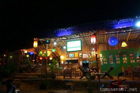 【ランタ島】08_ステーキやグリルなどドカン系料理の店「Lanta Sura Restaurant」