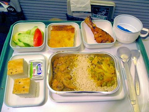 <パキスタン航空機内食>PK853/NRT-(PEK)-ISB/東京-(北京経由)-イスラマバード