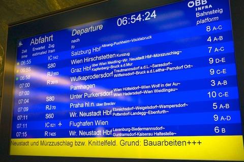 <中欧3カ国周遊その33>高速鉄道レイルジェットでウィーンからプラハへ(車内)