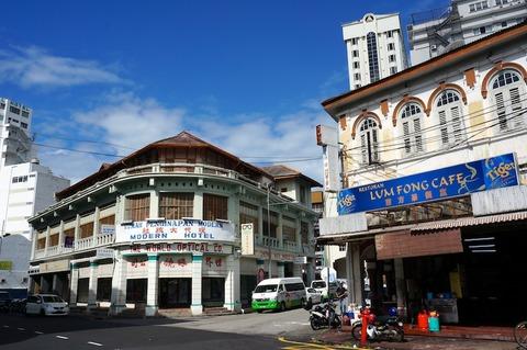 <タイ・マレーシア旅行その12>世界遺産ジョージタウンを徒歩で観光
