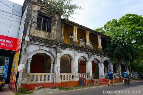 【スリランカ】06_コロニアル建築と内戦の傷跡が残るジャフナ市内を観光してみたよ①