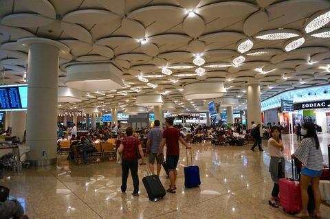 <ムンバイ空港/BOM>ジェットエアウェイズのラウンジ