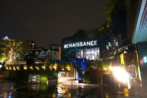 バンコクのクリスマスデコレーション@ルネッサンス・バンコク・ラッチャプラソーン・ホテル