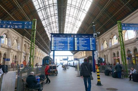 <中欧3カ国周遊その13>高速鉄道レイルジェットでブダペストからウィーンへ