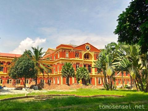 【ミャンマー】旧ビルマ政庁の内部見学ツアーはめっちゃおすすめ!