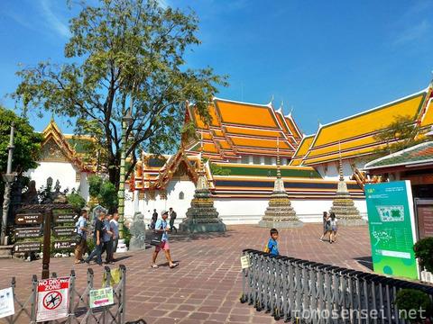 【ART】バンコク・アート・ビエンナーレ(3)ワット・ポー/Wat Pho