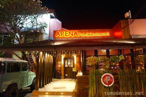 【バリ島&ギリ島】18_前菜のレバーペーストが超絶オススメ!「ARENA Pub & Restaurant」