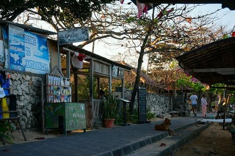 <バリ島旅行その13>ビーチでのんびり呑める店! ワルン・パンタイ・インダ/Warung Pantai Indah
