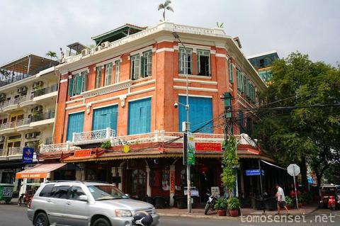 【カンボジア】05_東洋のパリと呼ばれたプノンペン市内をコロニアル散歩