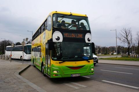 <中欧3カ国周遊その18>ウィーンの定期観光バス、ホップオン・ホップオフ/Hop-On Hop-Off