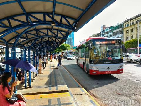 【ミャンマー】ヤンゴン市内から空港までシャトルバスで格安移動!