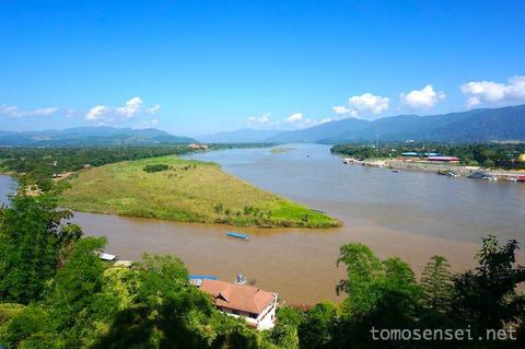 【チェンライ旅行2014冬】②ゴールデントライアングルとメコン川ボートトリップ観光