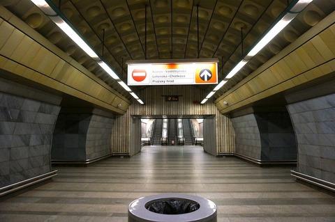 <中欧3カ国周遊その41>プラハの地下鉄に乗ってみた