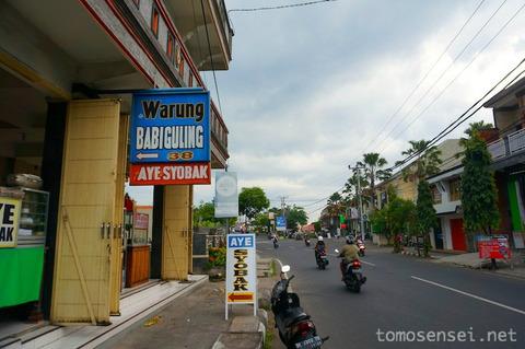 【バリ島】シンガラジャ名物の豚肉料理シオバッを食べるよ☆「Aye Syobak」