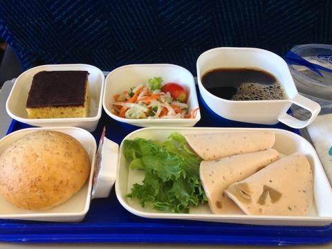 <バンコクエアウェイズ機内食>PG354/UTH-BKK/ウドンターニー-バンコク