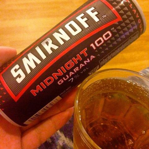 フルーツワイン?ガラナ入り缶スミノフを飲んでみた!