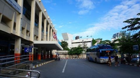 <チャーン島旅行その1>バンコクからバスに揺られて雨期のチャーン島へ!
