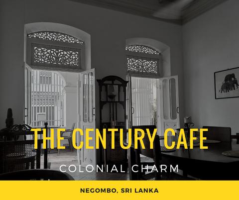 【スリランカ】30_白亜のコロニアルカフェで優雅な朝食を「The Century Cafe」