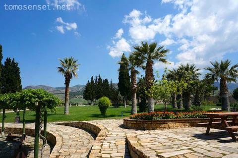 【トルコ旅行 Day5-3】ピクニックしたいレベルのお花畑!世界遺産ヒエラポリスのローマ遺跡を散策