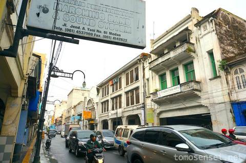 【インドネシア】オランダ植民地時代のコロニアル建築が残るメダン市内をお散歩