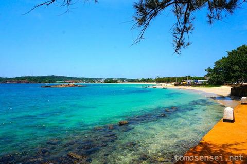 【スリランカ】17_めちゃくちゃ海がキレイ☆トリンコマリー市内観光②