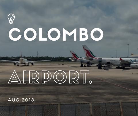 【スリランカ】31_コロンボ・バンダラナイケ国際空港