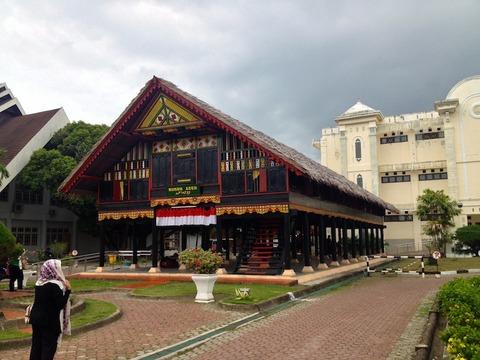 <アチェ旅行2014夏その12>アチェの歴史と文化を知る♪「アチェ州立博物館/Aceh State Museum」