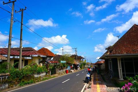 【バリ島】コロニアルな高原避暑地ムンドゥック/Mundukをお散歩する