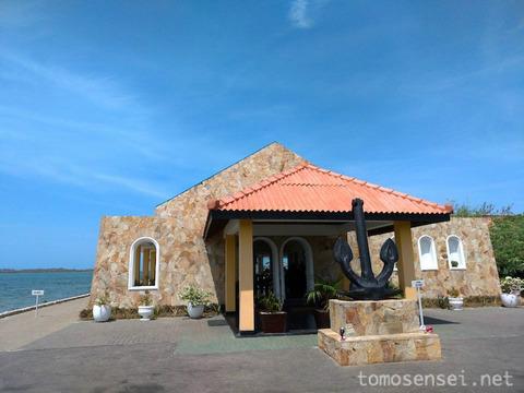 【スリランカ】09_海軍の敷地内にある海軍直営のレストラン「ハメンヒール・リゾート/Hammenhiel Resort」