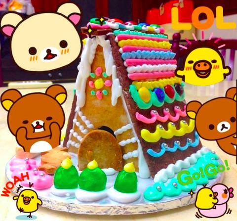 【トモ先生のバンコク絵画造形教室】クリスマスお菓子アートクラスのお知らせ☆